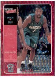 2000-01 Ultimate Victory Victory Collection #6 Baron Davis