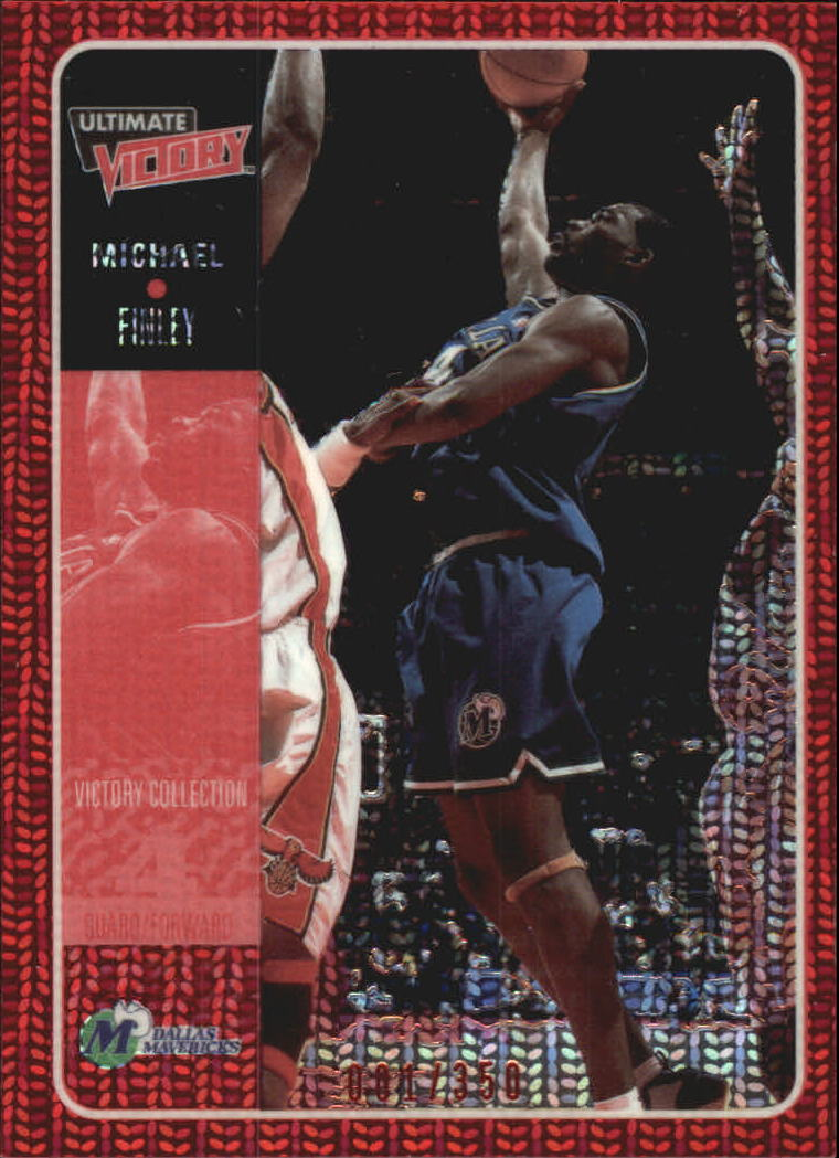 2000-01 Ultimate Victory Victory Collection #11 Michael Finley