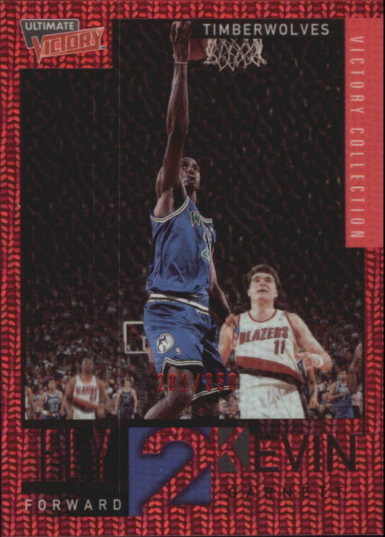 2000-01 Ultimate Victory Victory Collection #77 Kevin Garnett FLY