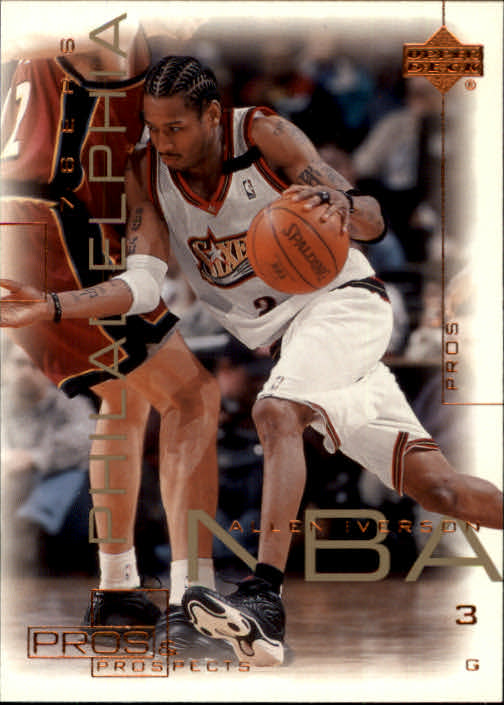 2000-01 Upper Deck Pros and Prospects #60 Allen Iverson