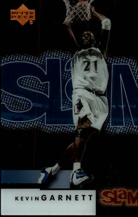 2000-01 Upper Deck Slam #32 Kevin Garnett