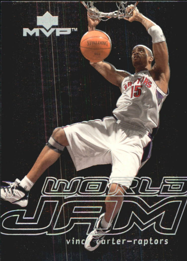 2000-01 Upper Deck MVP World Jam #WJ2 Vince Carter