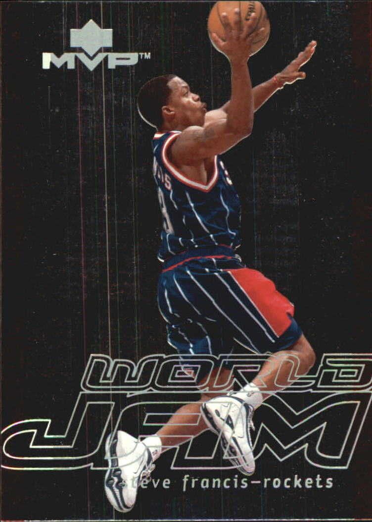 2000-01 Upper Deck MVP World Jam #WJ3 Steve Francis