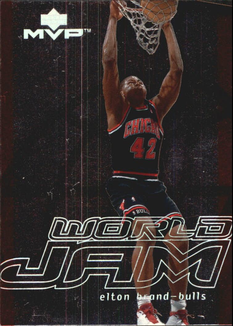 2000-01 Upper Deck MVP World Jam #WJ20 Elton Brand