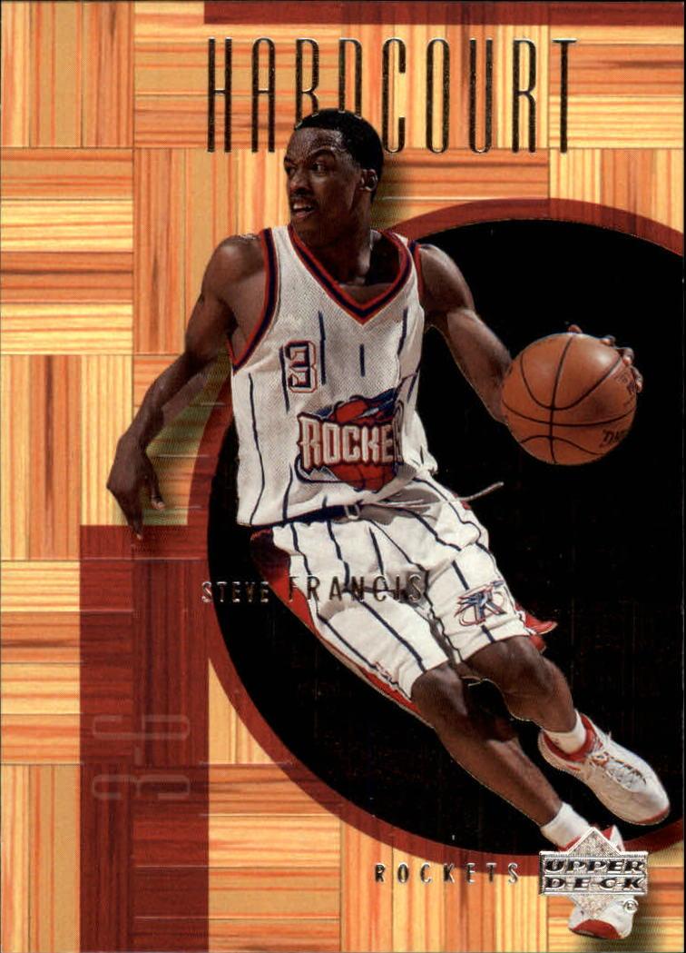 2000-01 Upper Deck Hardcourt #19 Steve Francis