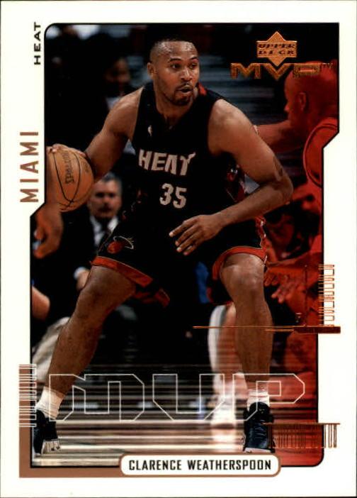 2000-01 Upper Deck MVP #84 Clarence Weatherspoon