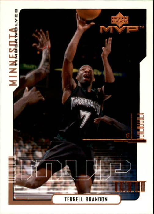 2000-01 Upper Deck MVP #99 Terrell Brandon