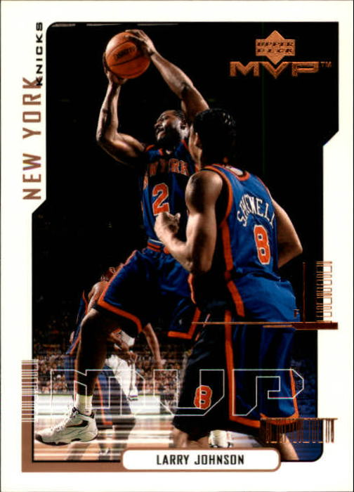 2000-01 Upper Deck MVP #117 Larry Johnson