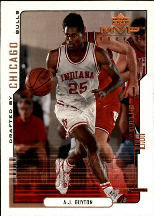 2000-01 Upper Deck MVP #201 A.J. Guyton RC