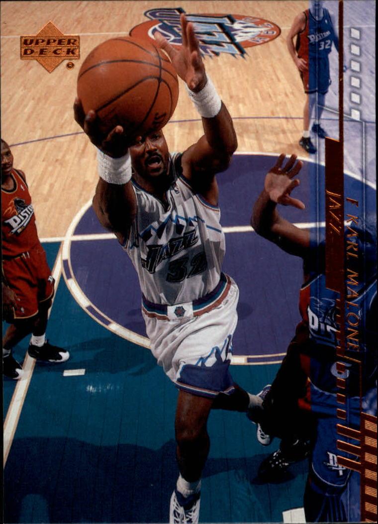 2000-01 Upper Deck #168 Karl Malone