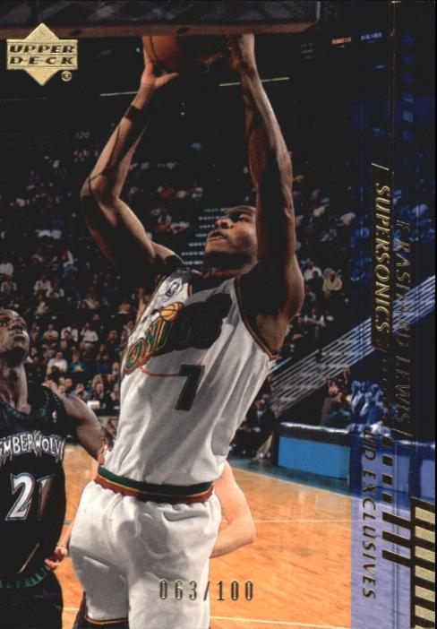 2000-01 Upper Deck Gold #159 Rashard Lewis
