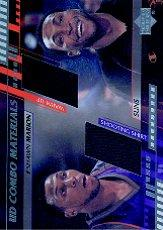 2000-01 Upper Deck Combo Materials #SMCM Shawn Marion