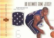 2000-01 Ultimate Collection Game Jerseys Bronze #KMJ Kenyon Martin