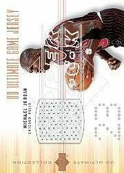 2000-01 Ultimate Collection Game Jerseys Bronze #MJJ Michael Jordan