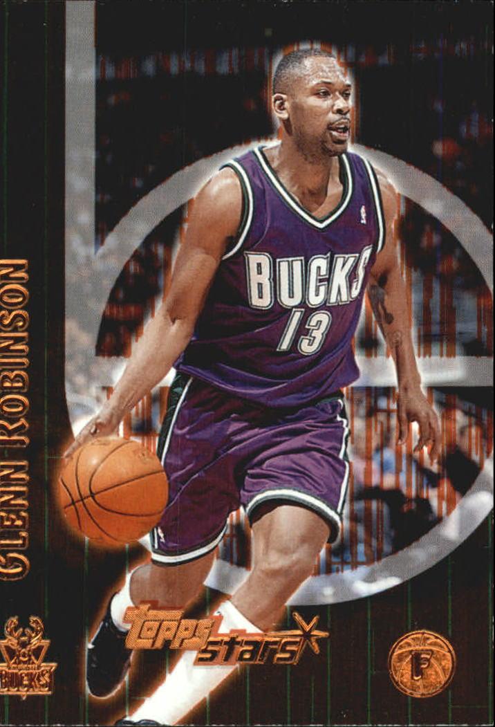 2000-01 Topps Stars Parallel #14 Glenn Robinson