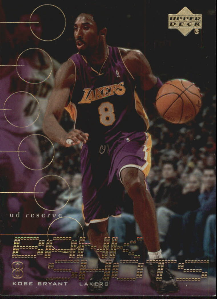 2000-01 UD Reserve Bank Shots #BK8 Kobe Bryant