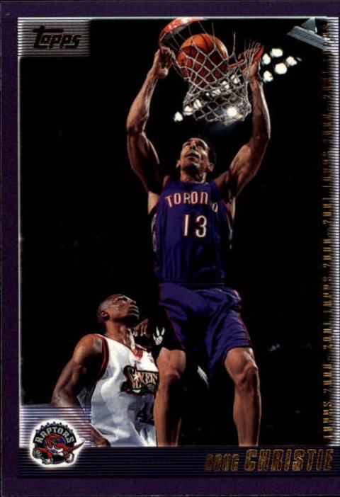 2000-01 Topps #8 Doug Christie