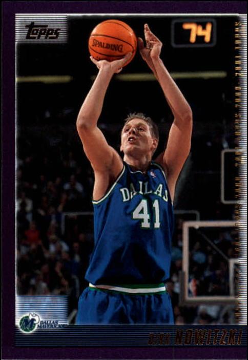 2000-01 Topps #16 Dirk Nowitzki