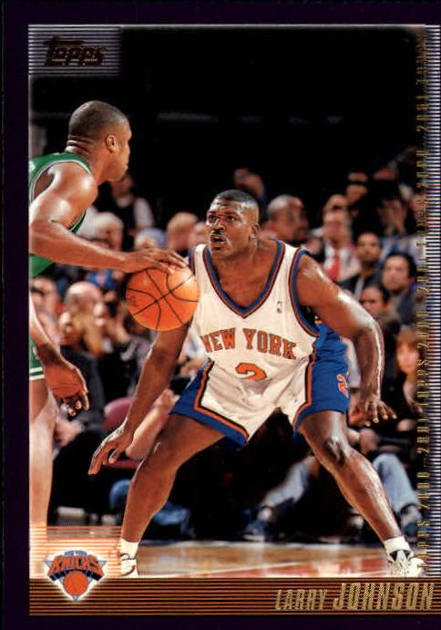 2000-01 Topps #39 Larry Johnson