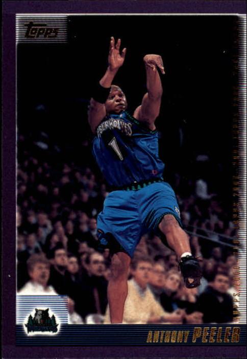 2000-01 Topps #48 Anthony Peeler