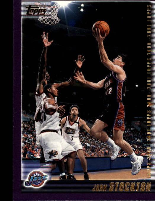 2000-01 Topps #80 John Stockton