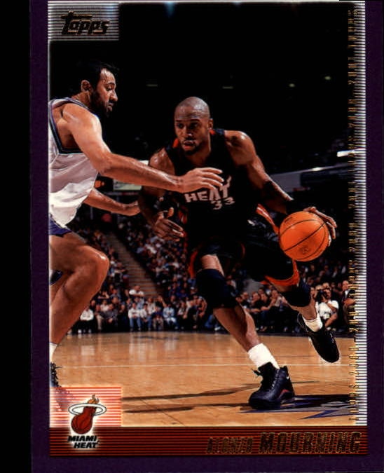 2000-01 Topps #100 Alonzo Mourning