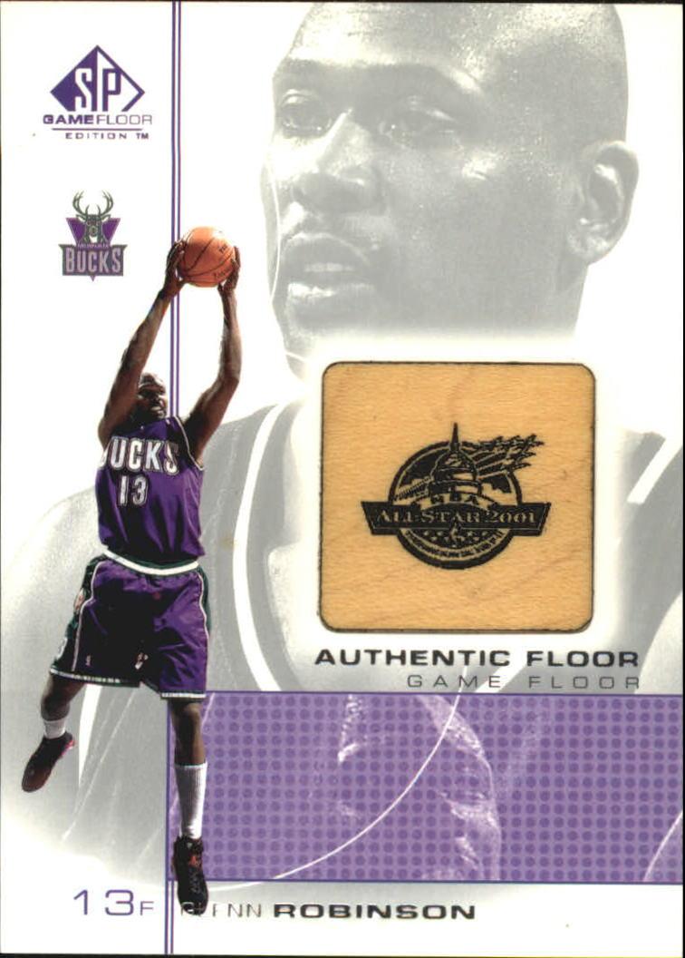 2000-01 SP Game Floor Authentic Floor #GR Glenn Robinson