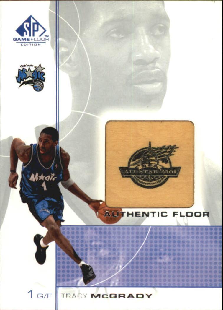 2000-01 SP Game Floor Authentic Floor #TM Tracy McGrady