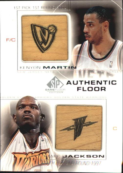 2000-01 SP Game Floor Authentic Floor Combos #C9 Kenyon Martin/Marc Jackson