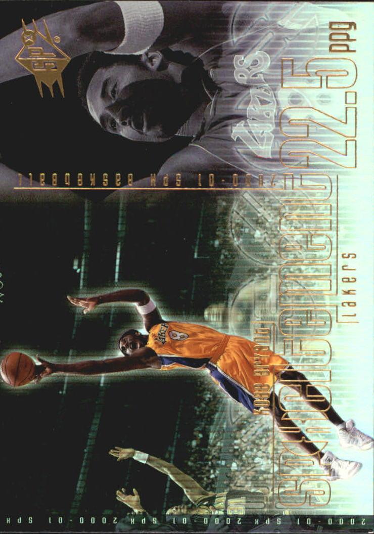 2000-01 SPx Spxcitement #S1 Kobe Bryant