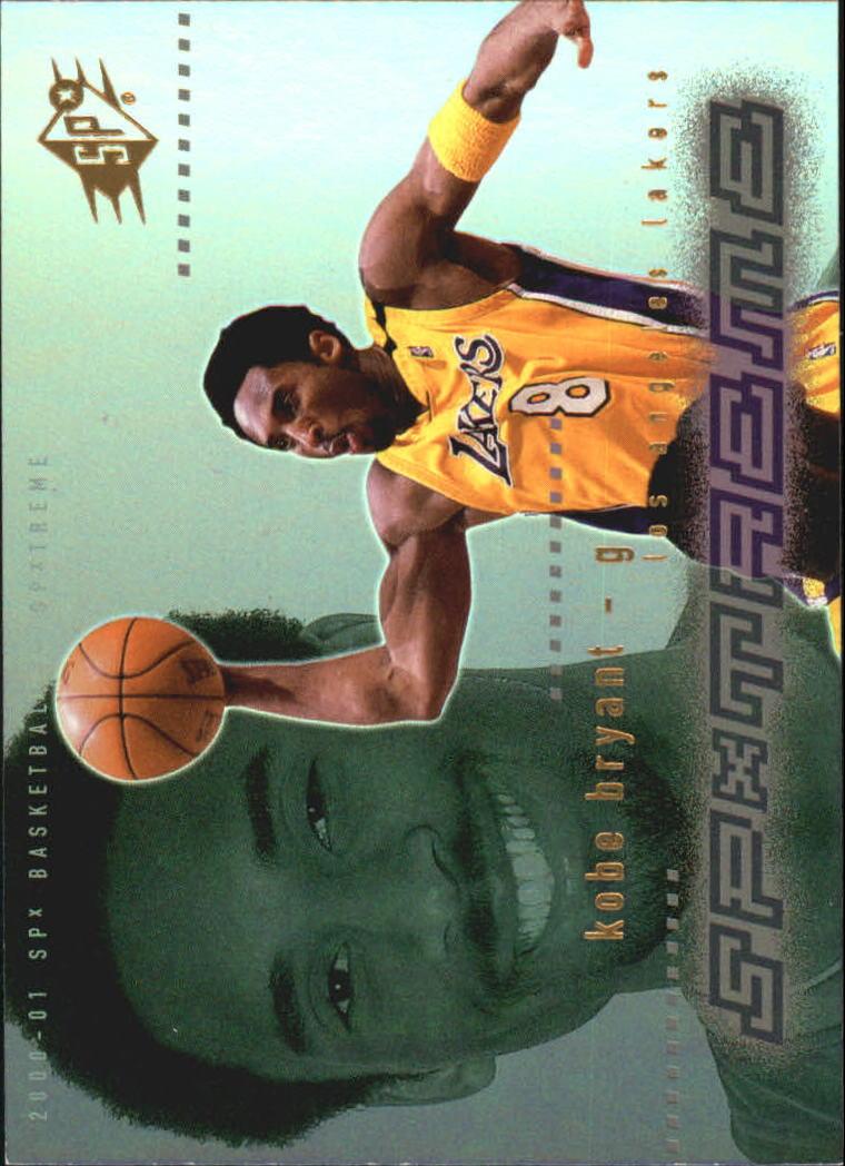 2000-01 SPx Spxtreme #X8 Kobe Bryant