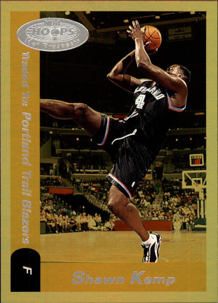 2000-01 Hoops Hot Prospects #101 Shawn Kemp