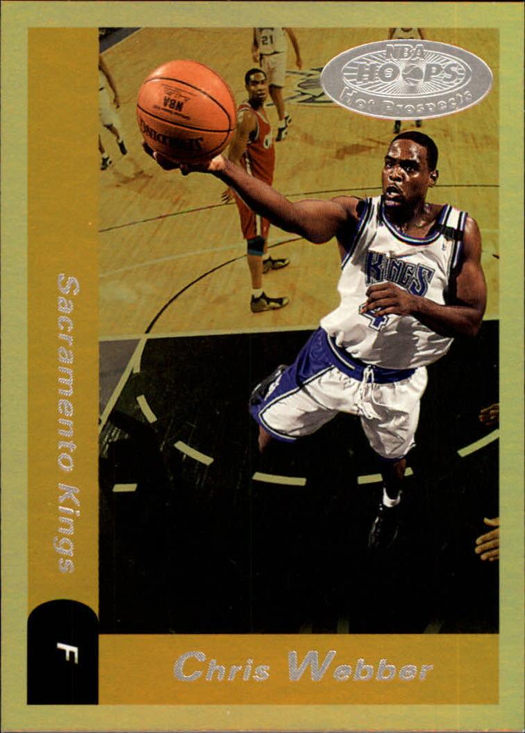 2000-01 Hoops Hot Prospects #113 Chris Webber