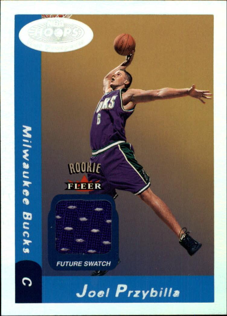 2000-01 Hoops Hot Prospects #128 Joel Przybilla JSY RC