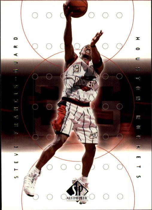 2000-01 SP Authentic #28 Steve Francis