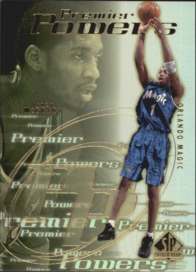 2000-01 SP Authentic Premier Powers #P5 Tracy McGrady
