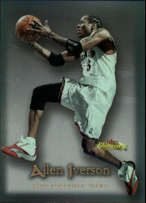 2000-01 Fleer Showcase #26 Allen Iverson