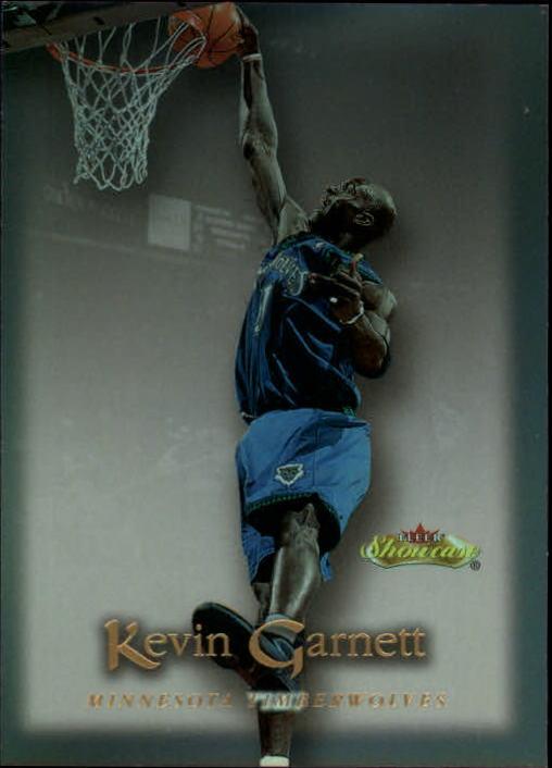 2000-01 Fleer Showcase #39 Kevin Garnett