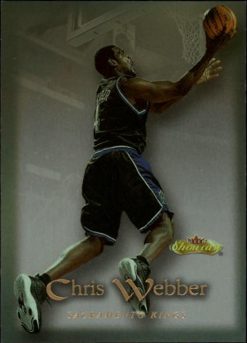 2000-01 Fleer Showcase #87 Chris Webber