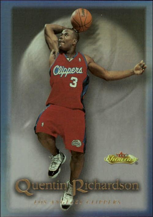 2000-01 Fleer Showcase #108 Quentin Richardson RC