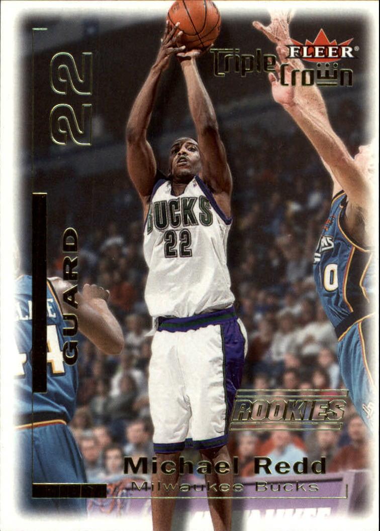 2000-01 Fleer Triple Crown #10 Michael Redd RC