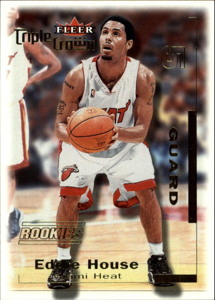 2000-01 Fleer Triple Crown #12 Eddie House RC