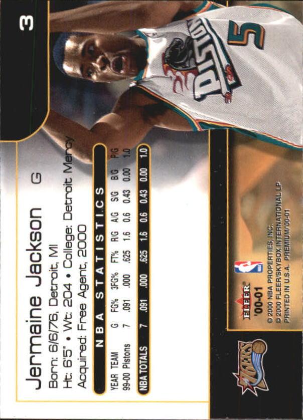 2000-01-Fleer-Premium-Basketball-Cards-Pick-From-List thumbnail 7