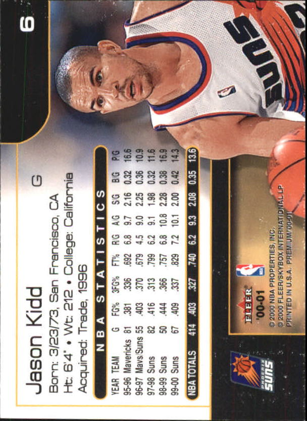 2000-01-Fleer-Premium-Basketball-Cards-Pick-From-List thumbnail 13