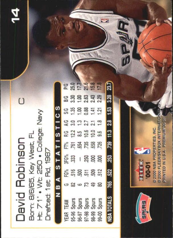 2000-01-Fleer-Premium-Basketball-Cards-Pick-From-List thumbnail 27