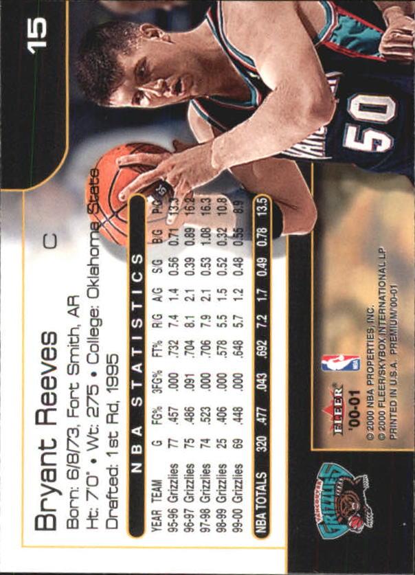 2000-01-Fleer-Premium-Basketball-Cards-Pick-From-List thumbnail 29