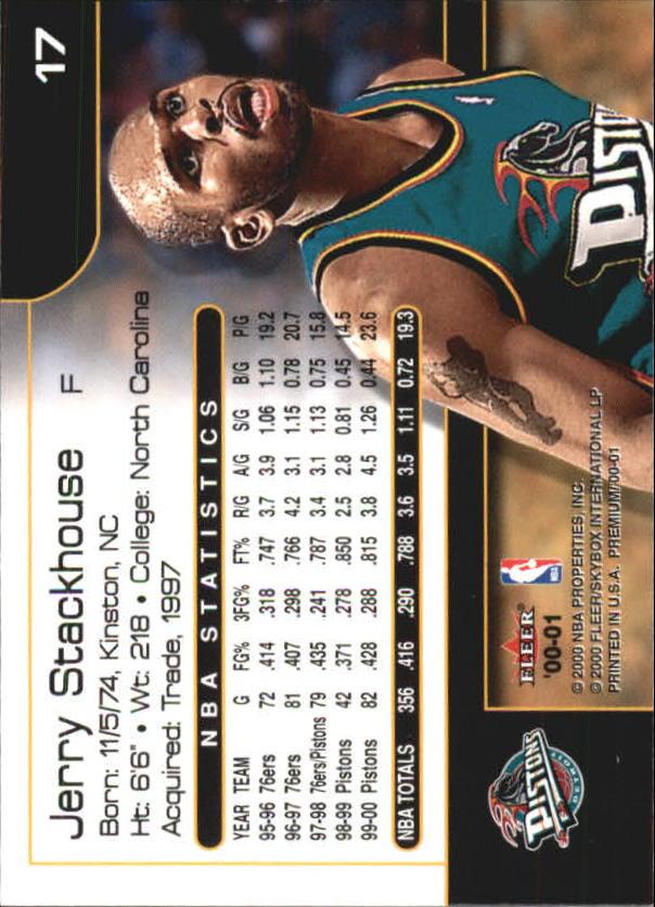 2000-01-Fleer-Premium-Basketball-Cards-Pick-From-List thumbnail 33