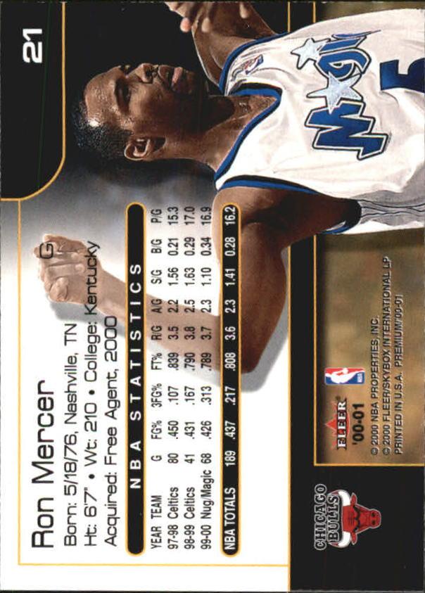 2000-01-Fleer-Premium-Basketball-Cards-Pick-From-List thumbnail 41