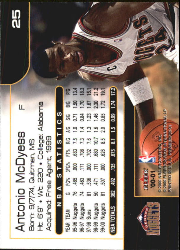 2000-01-Fleer-Premium-Basketball-Cards-Pick-From-List thumbnail 49