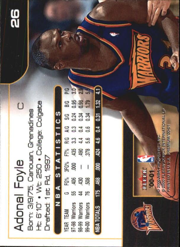 2000-01-Fleer-Premium-Basketball-Cards-Pick-From-List thumbnail 51